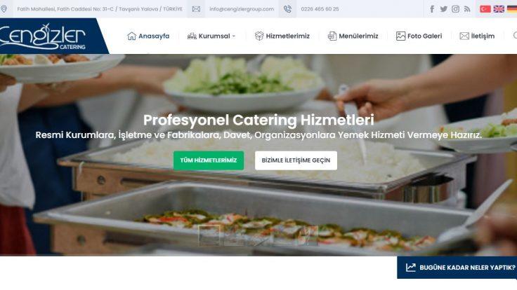 Cengizler Catering Web Sitemiz Yenilendi